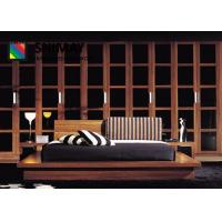 Buy cheap Solid Wood Contemporary Hotel Furniture Bedroom Sets Big Wardrobe from wholesalers
