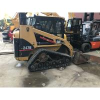 Buy cheap Used Rubber Track Caterpillar Skid Steer Loader 247b With Original Paint from wholesalers