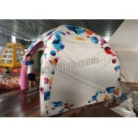 Buy cheap New design 3*3m airtight  inflatable spider tent for advertising or event from Wholesalers