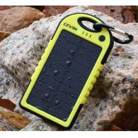 Buy cheap New style motor system  waterproof solar charger 5000mah for promotion from wholesalers