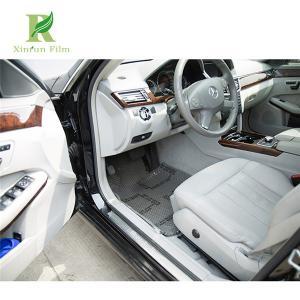 Logo printed pe self adhesive car interior - Automotive interior protective film ...