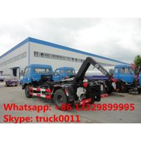 Buy cheap hot sale DONGFENG brand 12cubic meters hydraulic lift arm garbage truck,best price hook lift garbage truck for sale from wholesalers