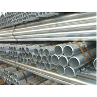 Buy cheap Longitudinally ERW Galvanized Mild Steel Pipe / GI Pipe With Plain / Beveled Ending DIN JIS from wholesalers