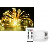Christmas Starry String Lights Battery Operated Easily Bended Around Trees