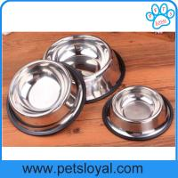 Buy cheap Wholesale low price metal dog bowls stainless steel pet Dog bowl China Factory from wholesalers