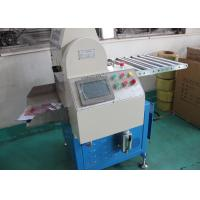 Buy cheap PLC Control Automatic Rubber Cutting Machine 380V 2800W 80 - 100 Counts Per Minutes from wholesalers