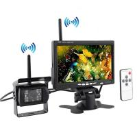 Buy cheap Wireless Vehicle Reversing System Backup Cameras System with 7 Inch Car Rear View Monitor from wholesalers