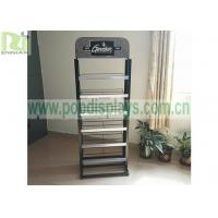 Buy cheap Brochure metal Wire Display Racks Wire Grid Magazine Books Usage Custom Spray Paint from wholesalers