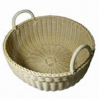 Buy cheap Resin Wicker Laundry/Buffet Basket, Washable, Safe Food Contact, Safe for Children from wholesalers