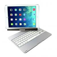 Buy cheap Light mute iPad Air Bluetooth Keyboard of 360° rotating design , 10m Effective distance product