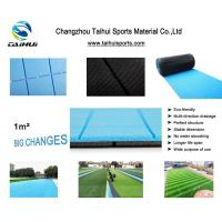 China Double-Sided Grooved Eco Friendly water proof Artificial Grass Underlay Composite Recyclable With Three Layers on sale