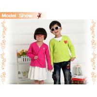 Buy cheap free sample!collar space kids cardigans plus size clothing mix order wholesale from wholesalers