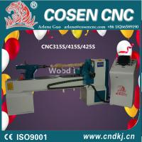 Buy cheap Factory Supply COSEN Brand CNC Wood Beads Lathe Making Wooden Handle from wholesalers