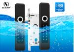 Buy cheap Waterproof Digital Smart Fingerprint Outdoor French Door Security Locks from wholesalers