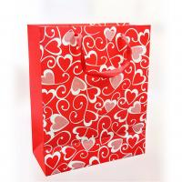 Buy cheap 150gsm Craft Paper Gift Bags , Offset Printing For Valentine's Day 12.5 X 6 X 17cm product