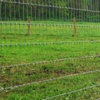 Buy cheap Woven Wire Fence Roll|Called Non-Climb Security Fencing Mesh for Horse Cattle from wholesalers