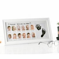 Buy cheap Baby Memorial Growing Picture Frame 1-12 Month Baby wooden Photo Frame Display Kids from wholesalers
