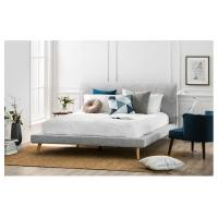 Buy cheap Modern Upholstered King Bed Sets , Solid Wood Bedroom Furniture Sets from wholesalers