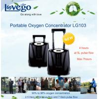 Buy cheap 14 hours battery Lovego Medical Use Portable Oxygen Concentrator/Oxygen Generator LG103 for 7LPM Oxygen therapy from wholesalers