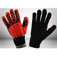 Buy cheap Industrial Mechanic Work Gloves Impact Resistant Mechanic Safety Gloves 13 Gauge from wholesalers