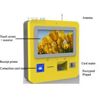 Buy cheap Self Recharge Wall Mounted Kiosk , DIP Card Reader 3G Wireless Telecom Terminal from wholesalers