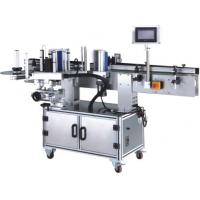 Buy cheap Round And Flat Borrles Beverage Filling Line , Single Sided Bottle Sticker Labeling Machine from wholesalers