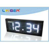 Buy cheap Remote Control Digital Gas Price Signs Iron / Steel Frame 2 Years Warranty from wholesalers