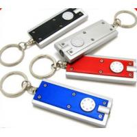 Buy cheap Portable shine and beep switch button Mini LED Keychain Flashlights from wholesalers