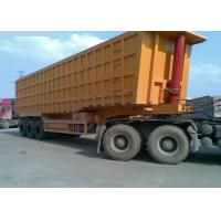 Buy cheap Heavy duty side3 Axles 60 - 80 Tons Semi Trailer Dump Truck SINOTRUK from wholesalers