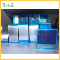 Buy cheap Logo Customized Dark Blue Pe Plastic Protection Film For HVAC Ducting System from wholesalers