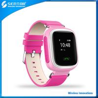 Buy cheap Colorful mini watch GPS tracker device for young children, anti-off & anti-lost safeguard product
