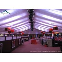 Buy cheap Outdoor Large  Event Tents With Beautiful Roof Linings And Curtains 15m * 30m from wholesalers