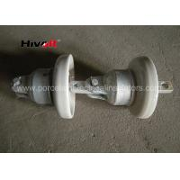 Multi Color Porcelain Suspension Insulator / Overhead Line Insulators For Earth Line