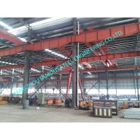 Buy cheap Metal Customized Prefab Industrial Steel Buildings Easy Erection With C Purlins from wholesalers