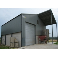 Buy cheap Safe Durable Steel Structure Workshop Warehouse Garage Hanger Shed by Steel Structure from wholesalers