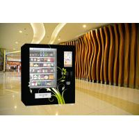 Buy cheap Coin Bill Credit Card Payment Food Vending Machine With Remote Platform And Advertising from wholesalers