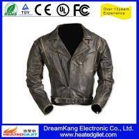 Buy cheap Heated motorcycle leather jacket from wholesalers