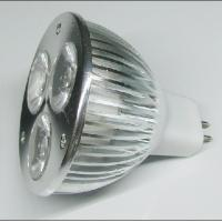 Buy cheap 3.5W MR16 12V DC LED Spot lamps bulb 90 - 240V AC 50 degrees for parking lots from wholesalers