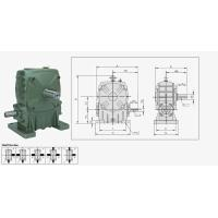 Buy cheap WPEDO Worm Reduction Gear reducer from wholesalers