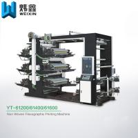 Buy cheap Six Colour Non Woven Bag Printing Machine With Pneumatic Printing Cylinder from wholesalers