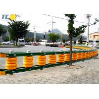 Buy cheap Energy Absorbing Diameter 370mm Roller Road Barrier from wholesalers