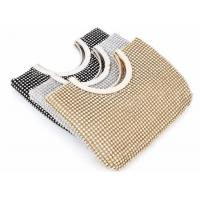 Buy cheap Party Elegance Gold Mesh Evening Bag , Vintage Mesh Purse For Ladies from wholesalers