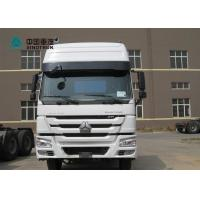 Buy cheap SINOTRUK HOWO 6X4 371HP Prime Mover Truck Tractor Head Truck With 2 Bunkers from wholesalers
