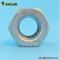 Buy cheap Hot Forged ASTM A563 DH Nut Heavy Hex Hot Dip Galvanized with A325 Bolt from wholesalers