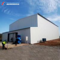 Buy cheap Prefabricated Steel Fabrication Structure Painted Building with Sandwich Panel from wholesalers
