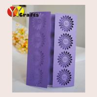Buy cheap 2015 fashion purple bithday invitation light blue wedding invitation card factory from wholesalers