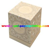 Buy cheap colorful lid and base cosmetic / jewelry paper gift box printing from wholesalers