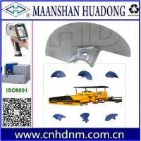 Buy cheap asphalt paver machine auger blade parts from wholesalers
