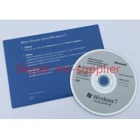Buy cheap OEM 64 Bit Computer System Softwares , Microsoft Win 7 Pro DVD / VD Data from wholesalers