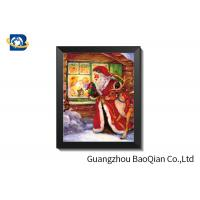 Buy cheap Christma Holiday Theme PET 3D Lenticular Pictures For Indoor Decoration from wholesalers